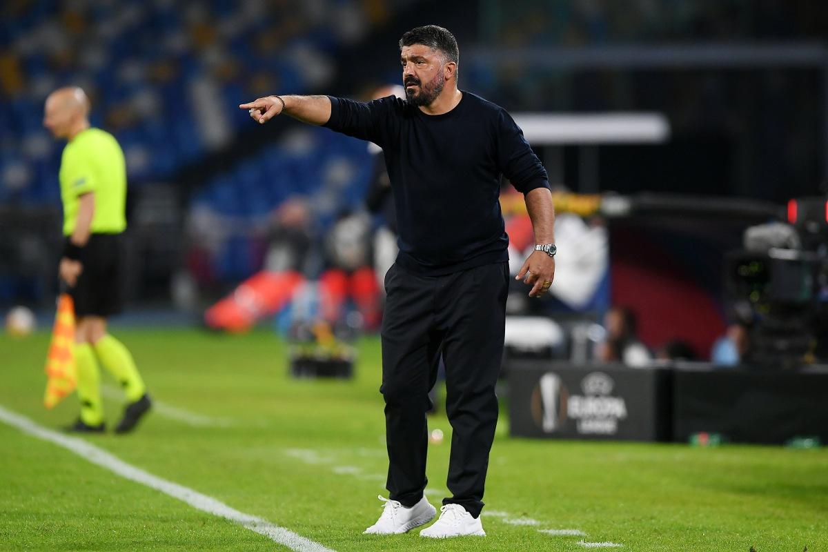Gattuso renovará con el Napoli antes deNavidad